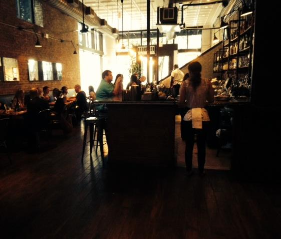 Parkside Bar and Seating
