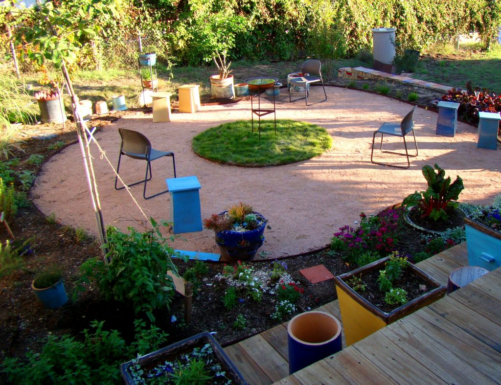 Clayworks Outdoor Patio in East Austin