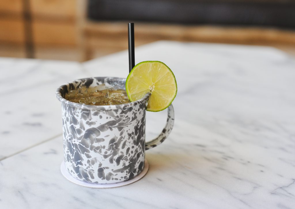 Melvin Mule During Happy Hour at Jacoby's