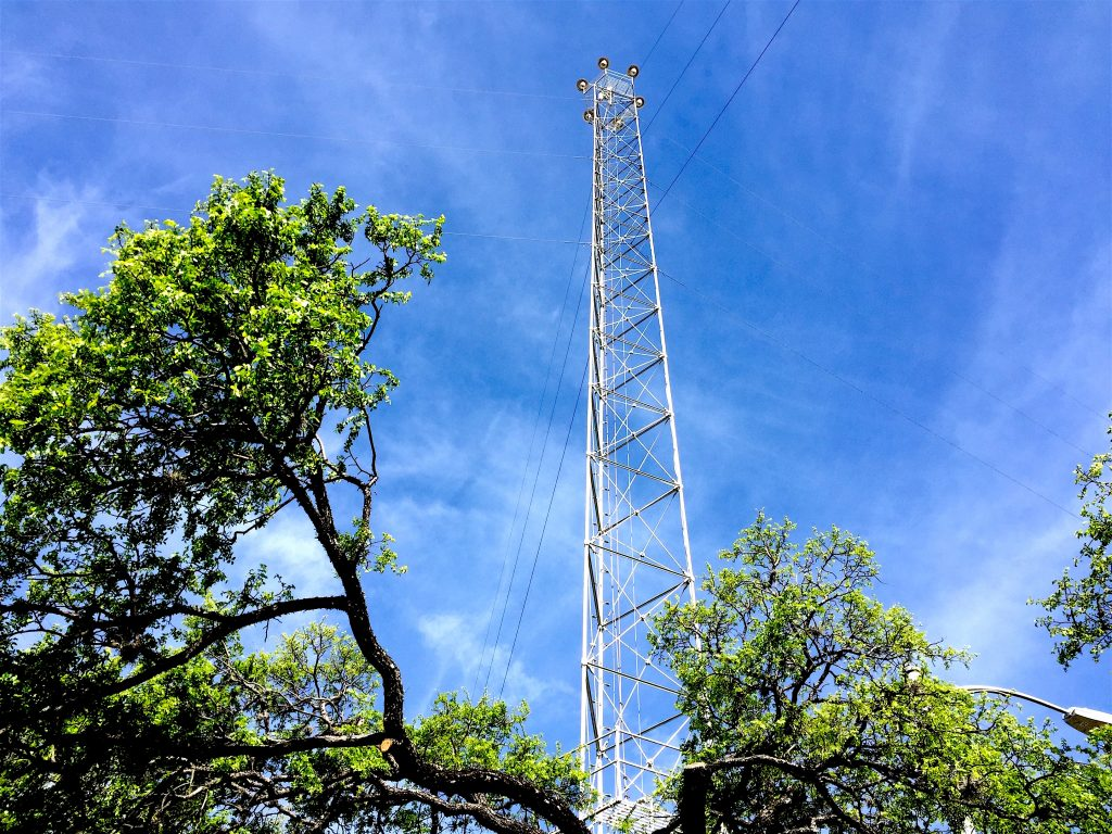 Existing Moonlight Tower Austin