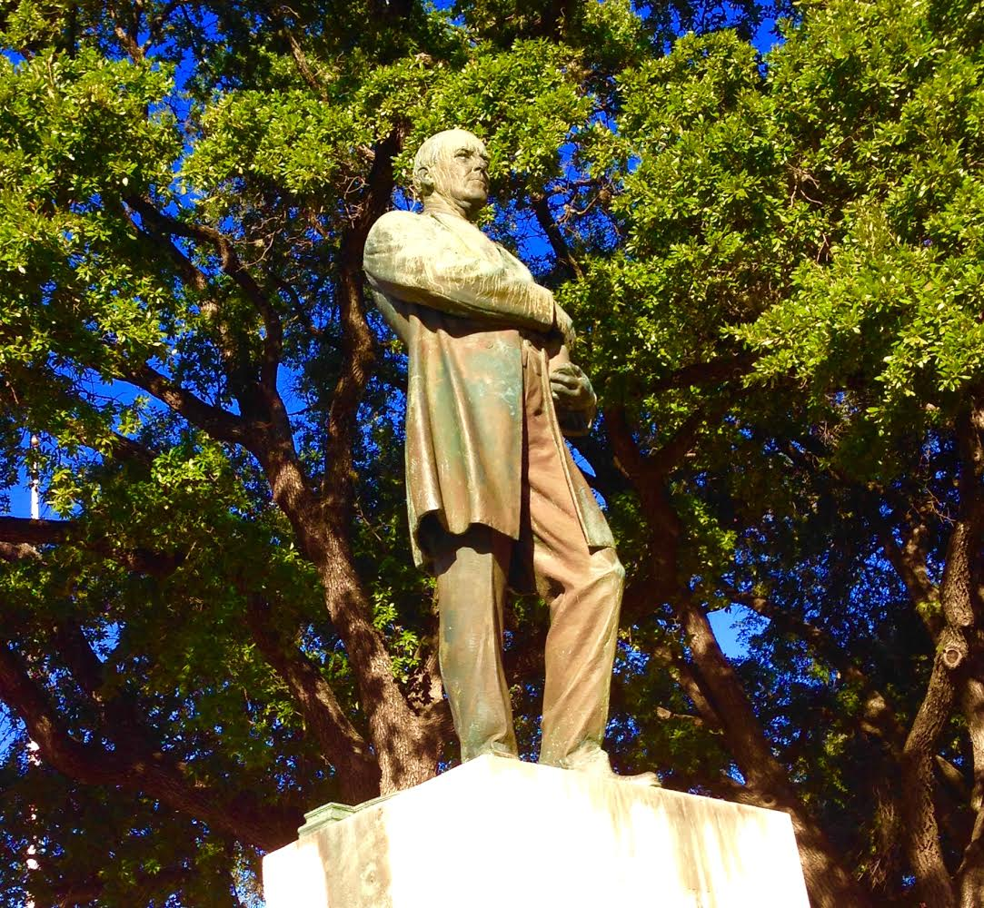 Woodrow Wilson Statue on UT Campus