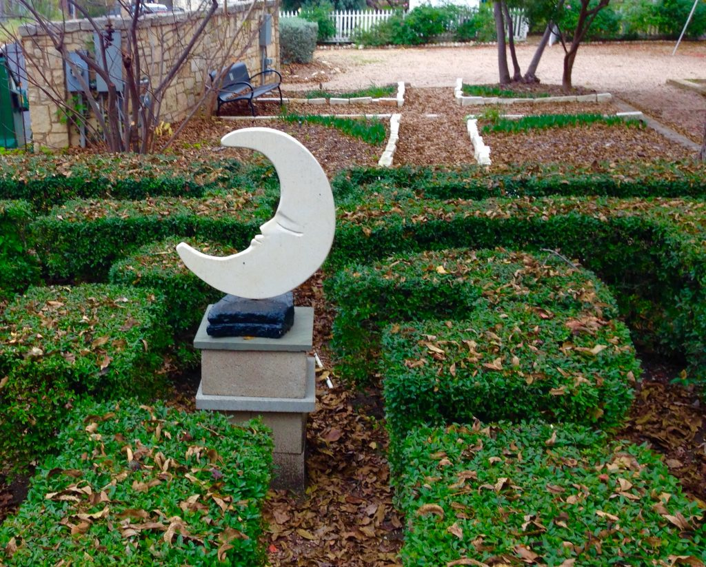 Formal Garden at French Legation Museum
