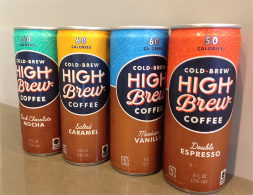 High Brew Coffee Flavors