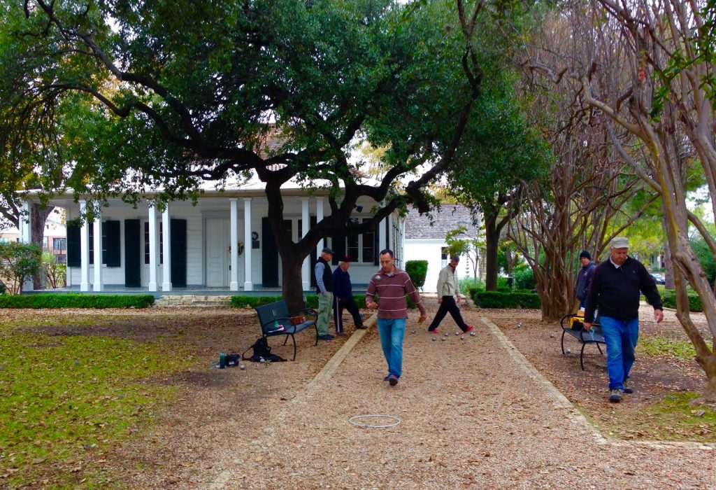 Pelanque Players at French Legation Museum in Austin