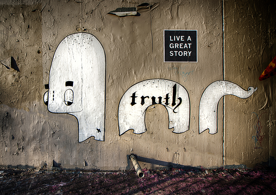 Live a Great Story Street Art in Austin