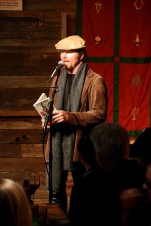 Owen Egerton at One Page Salon in Austin