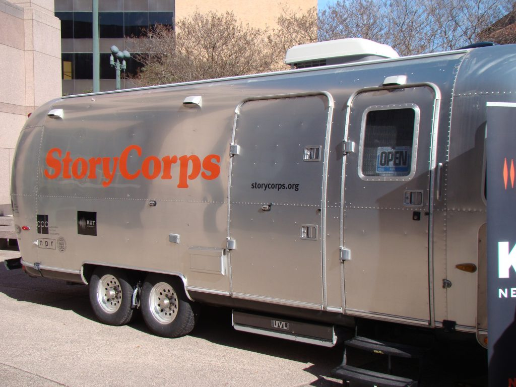 StoryCorps MobileBooth Airstream