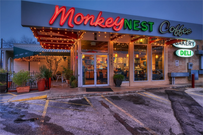 Monkey Nest Coffee in Austin