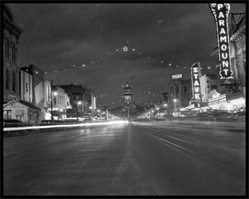 Old Congress Avenue in Austin