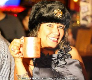 Vodka Girl ATX with Ushanka