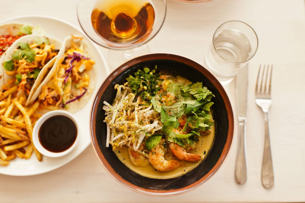 The Peached Tortilla Southern meets Asian cuisine