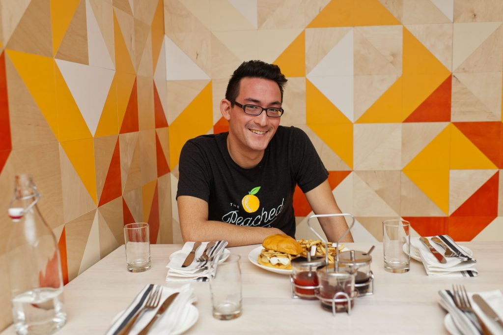 Eric Silverstein of The Peached Tortilla