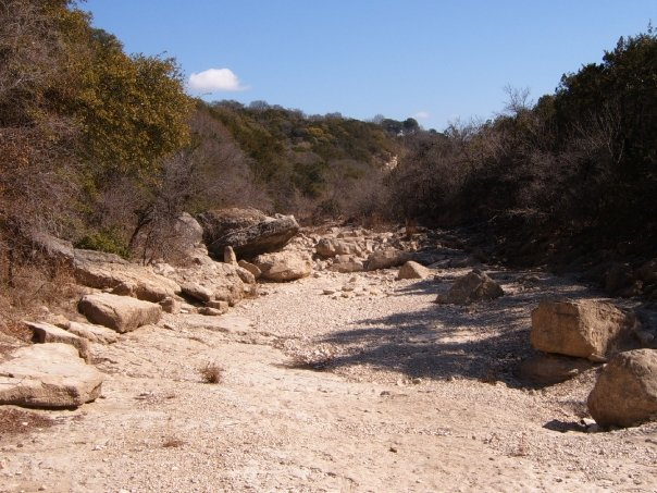 Dry Creek Bed Barton Creek