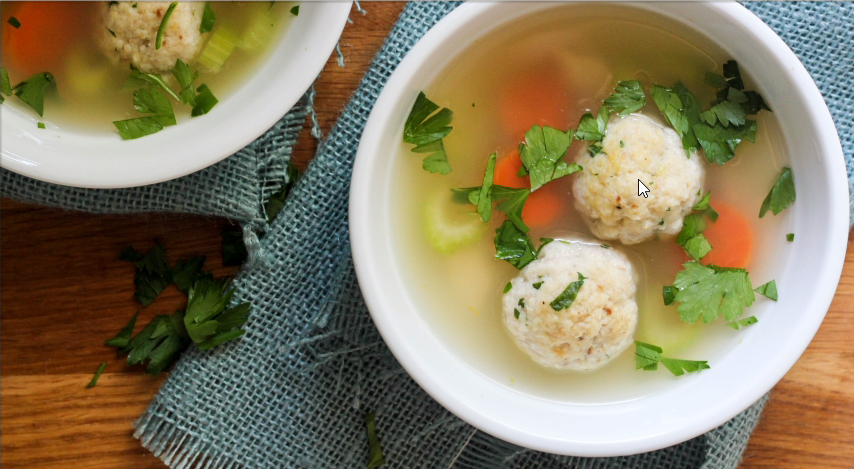 Matzo Ball Soup by What Jew Wanna Eat