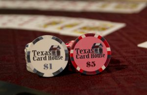 Poker Chips at Texas Card House in Austin