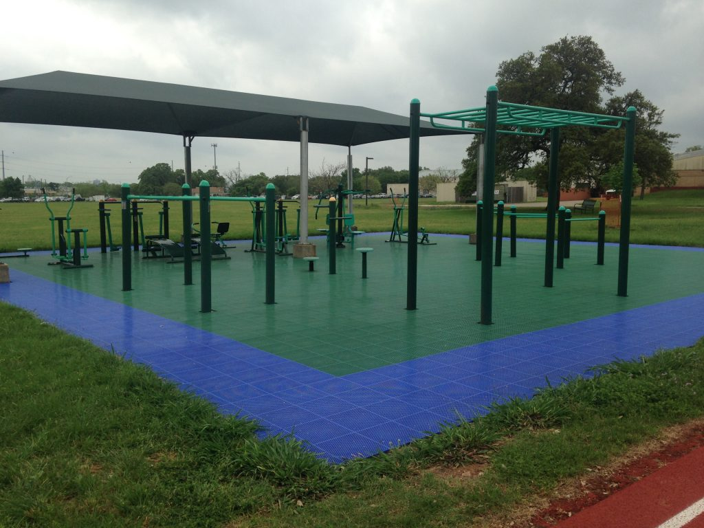 Outdoor Fitness Equipment Camp Mabry