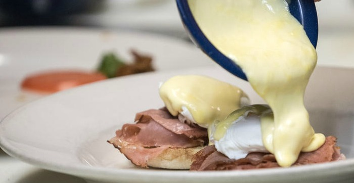 Godfather Benedict with Hollandaise