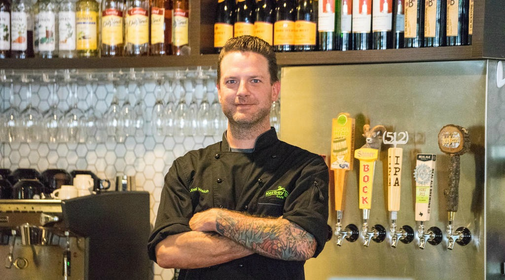 Executive Chef Joel Welch of Kerbey Lane Cafe