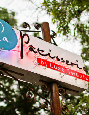 La Patisserie Sign in Austin