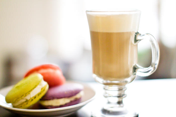 Macarons and Coffee La Patisserie