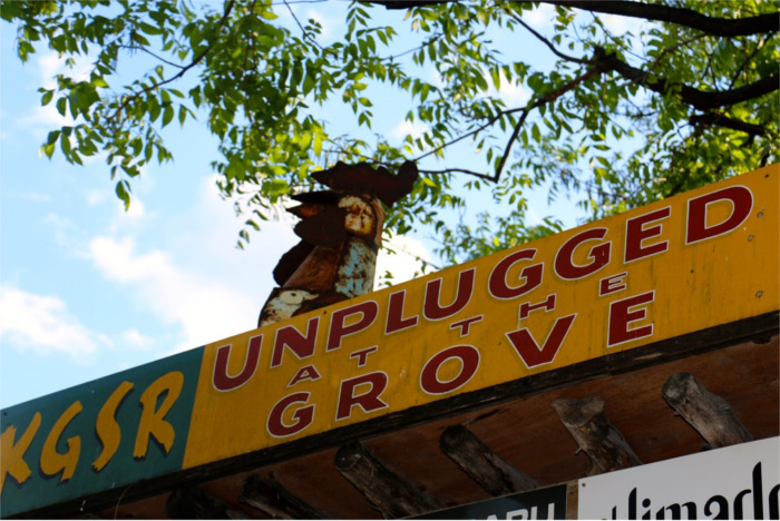 Unplugged at the Grove Stage