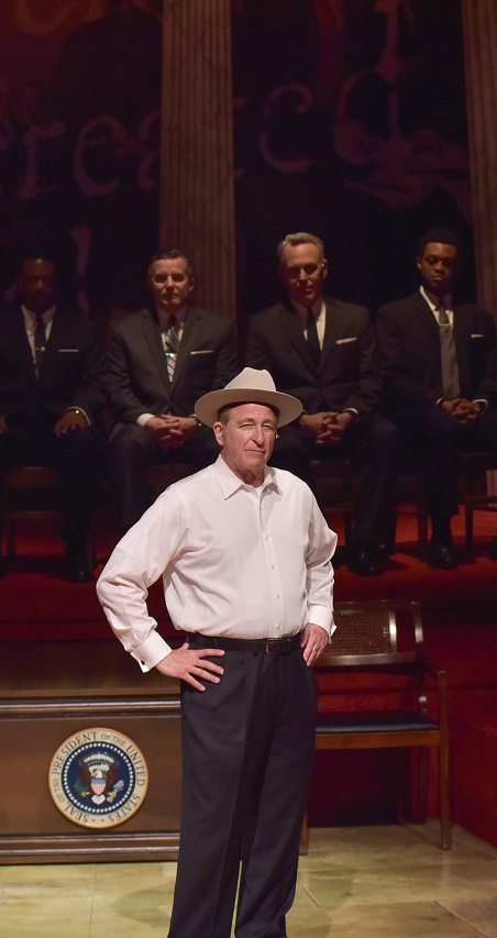 Lyndon Baines Johnson in All the Way Production