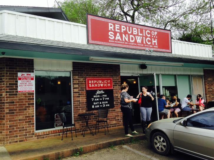 Republic of Sandwich in Austin