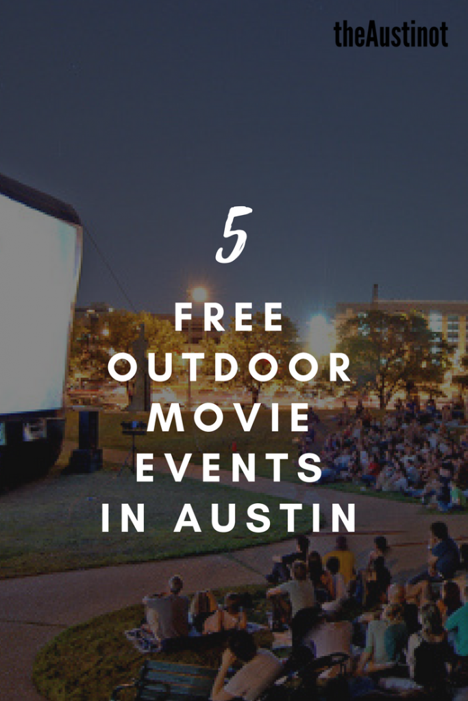 Free Outdoor Movie Events in Austin