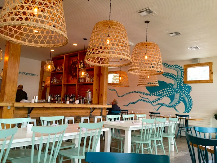 Inside Alcomar Seating and Bar