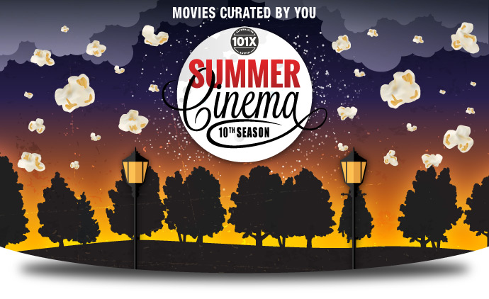 101X Summer Cinema Poster