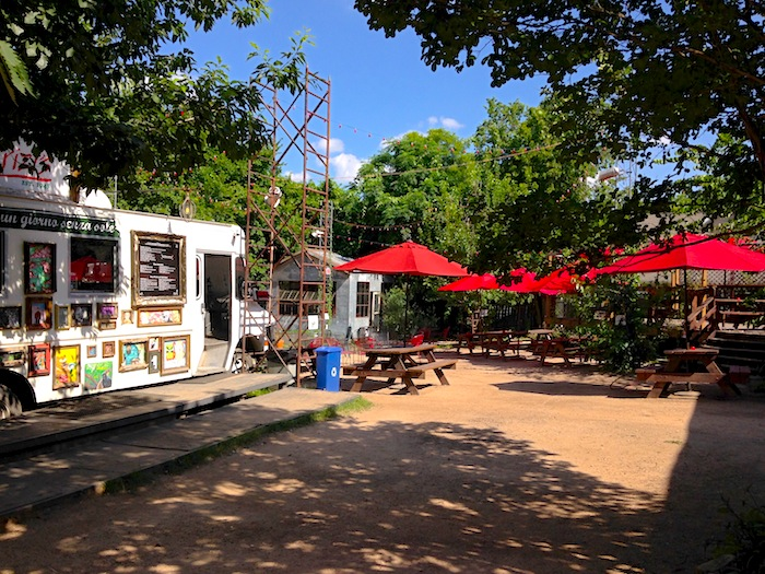 Butterfly Bar Outdoor Patio in Austin