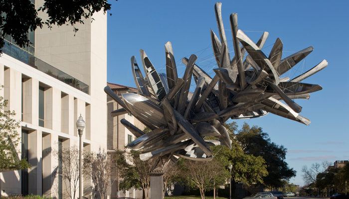 Nancy Rubins, Monochrome for Austin at The University of Texas