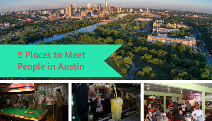 Places to Meet People in Austin