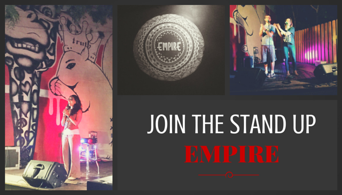Stand up Comedy at Empire Control Room