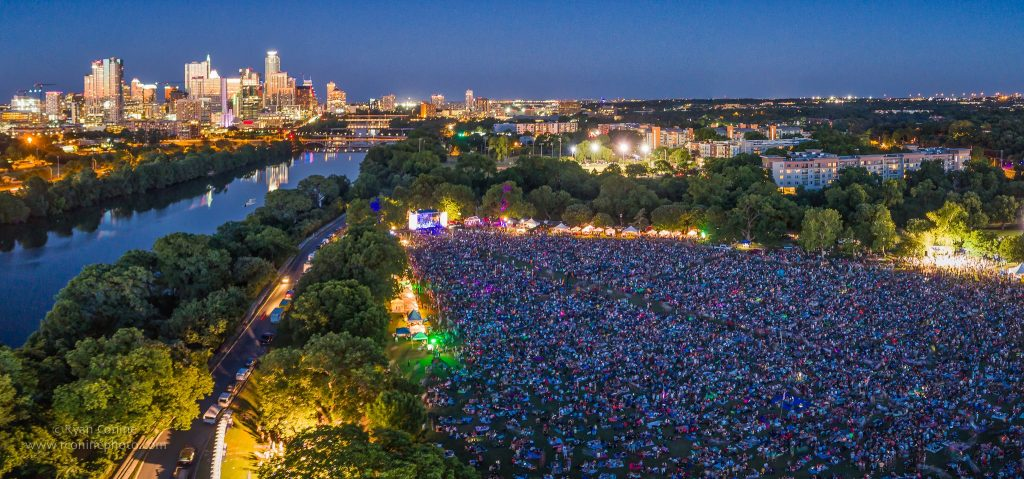 Blues on the Green Free Summer Concerts in Austin
