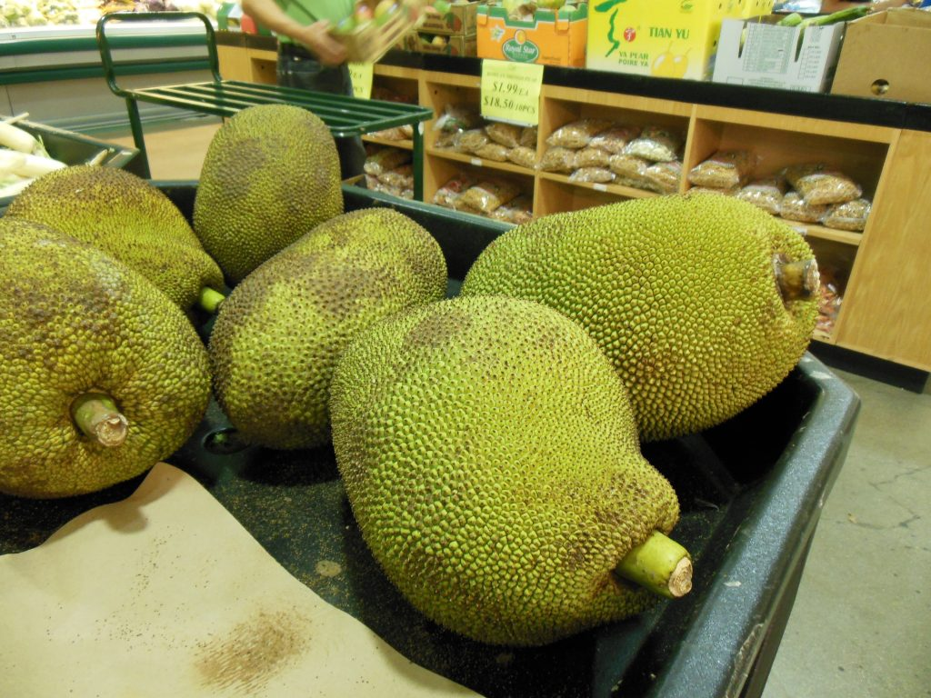 Jackfruit at MT Supermarket in Austin, TX