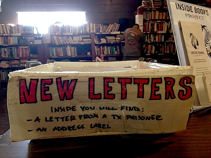 Letters from Prisoners to Inside Books Project