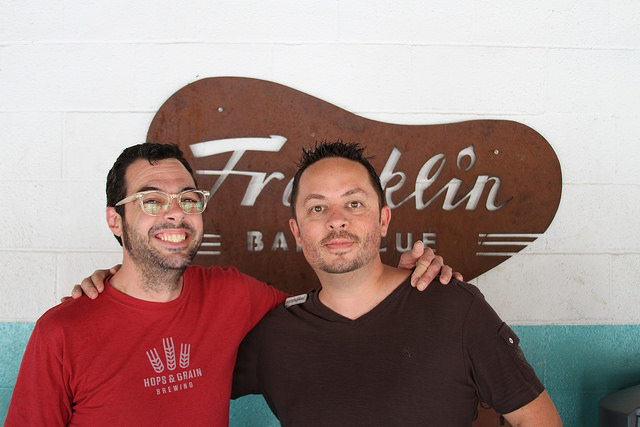 Aaron Franklin and Eric Highland