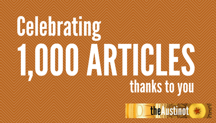 1000 Articles on The Austinot
