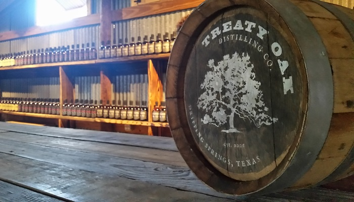 Treaty Oak Distillery Barrel