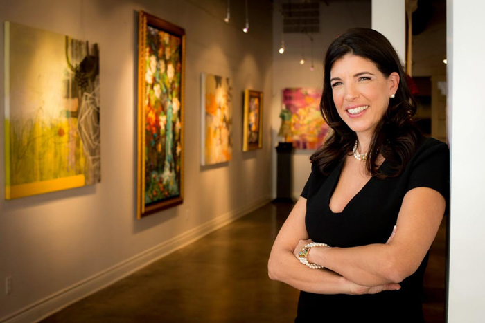 Lisa Russell Owner Russell Collection Fine Art Gallery