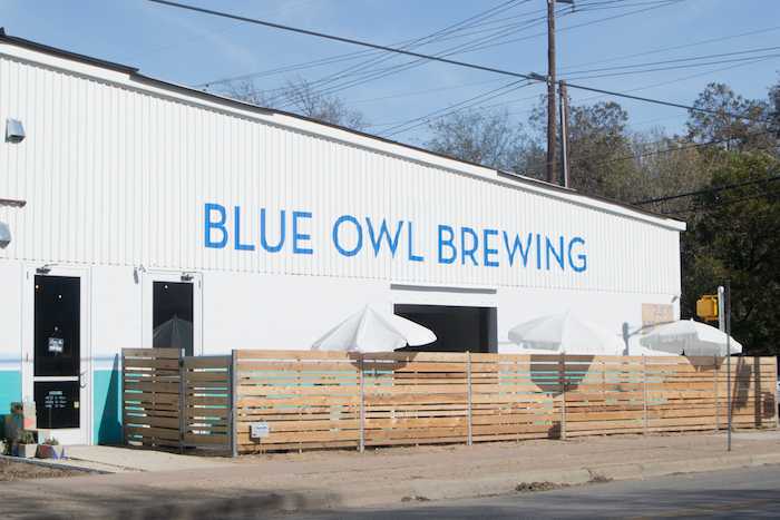 Blue Owl Brewing Outdoor Patio Austin