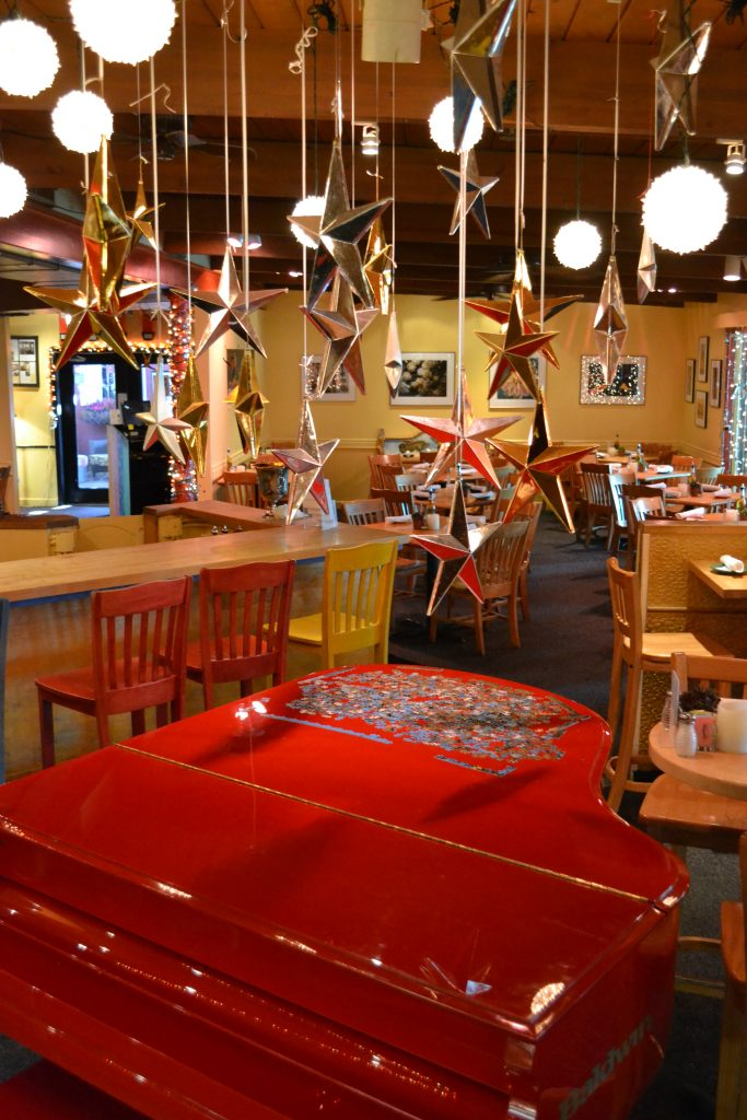 Chez Zee American Bistro Red Piano