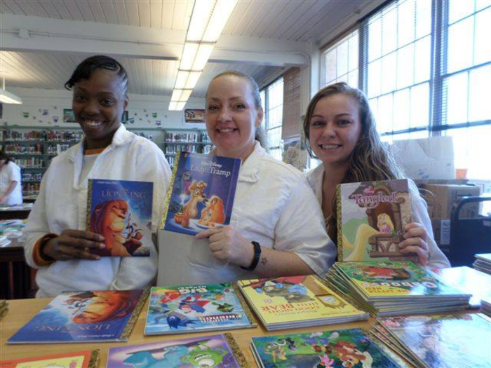 Incarcerated Mothers with Women's Storybook Project