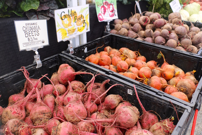 Beets at Barton Creek Farmers' Market