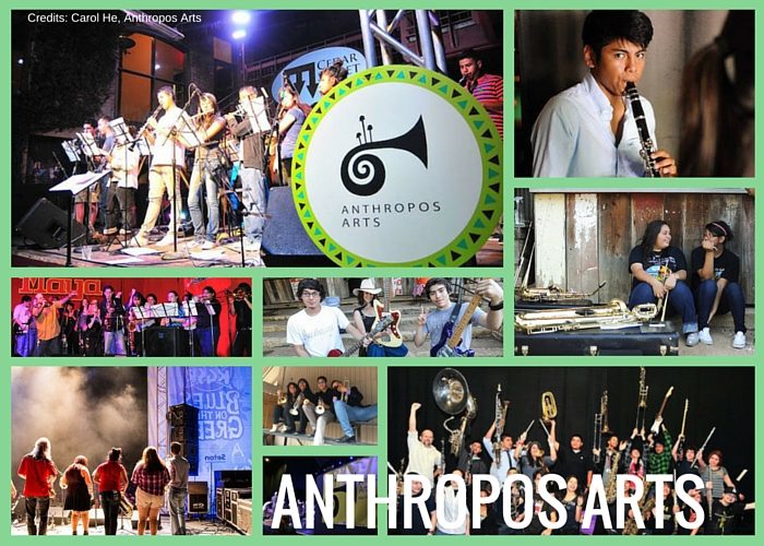 Anthropos Arts Students Performing in Austin