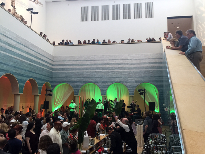 B Scene Bar and Live Music at Blanton Museum