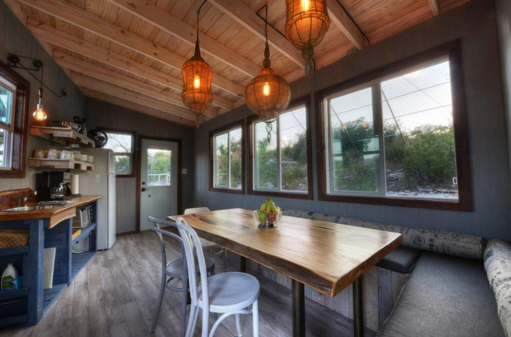 Treehouse Kitchen and Dining Room