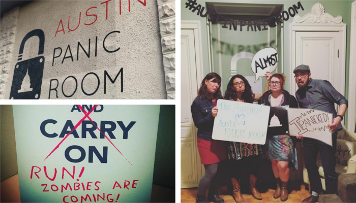 The Austinot Does Austin Panic Room