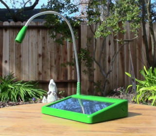 Unite to Light Solar Powered Lamp